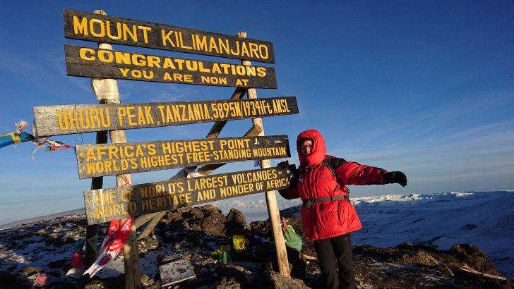 Kilimanjaro beklimmen, een hele dikke merci