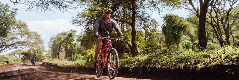 Mountainbike safari Lake Manyara