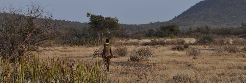 Hadzabe bosjesman in Tanzania