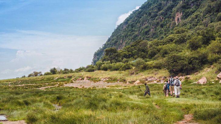 Blog werkreis Marloes: wandelen in Lake Manyara NP