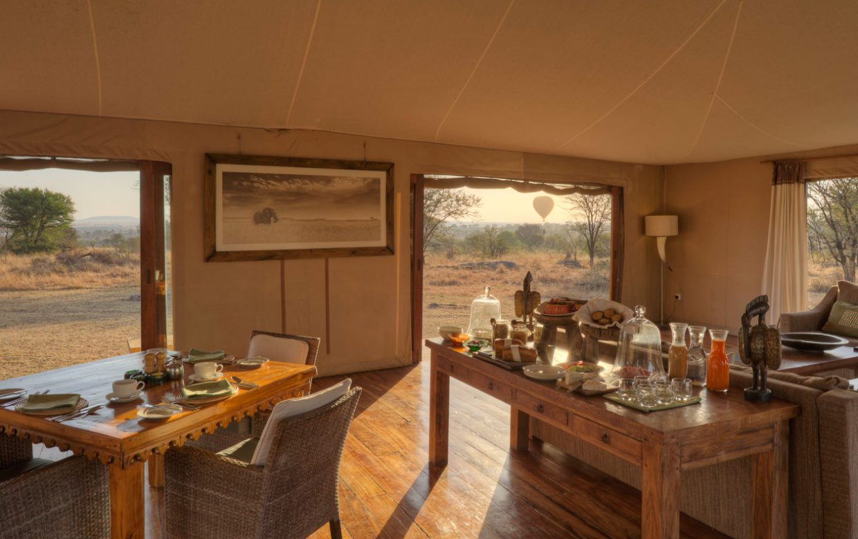 Explore Tanzania - Accommodatie Selous Game Reserve - SiwanduExplore Tanzania - Accommodatie Serengeti - Sayari Camp