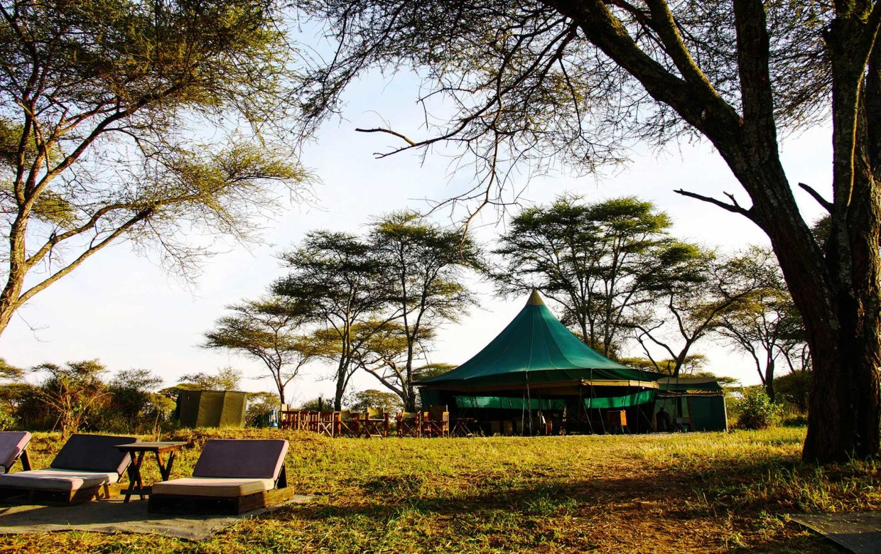 Green Camp Banagi in Serengeti Nationaal Park
