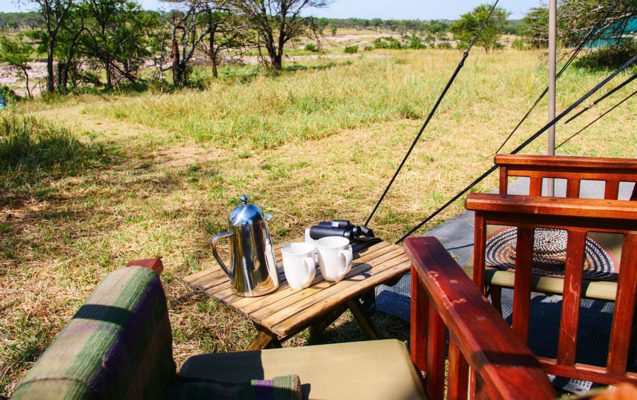Green Camp Kogatende in Serengeti Nationaal Park
