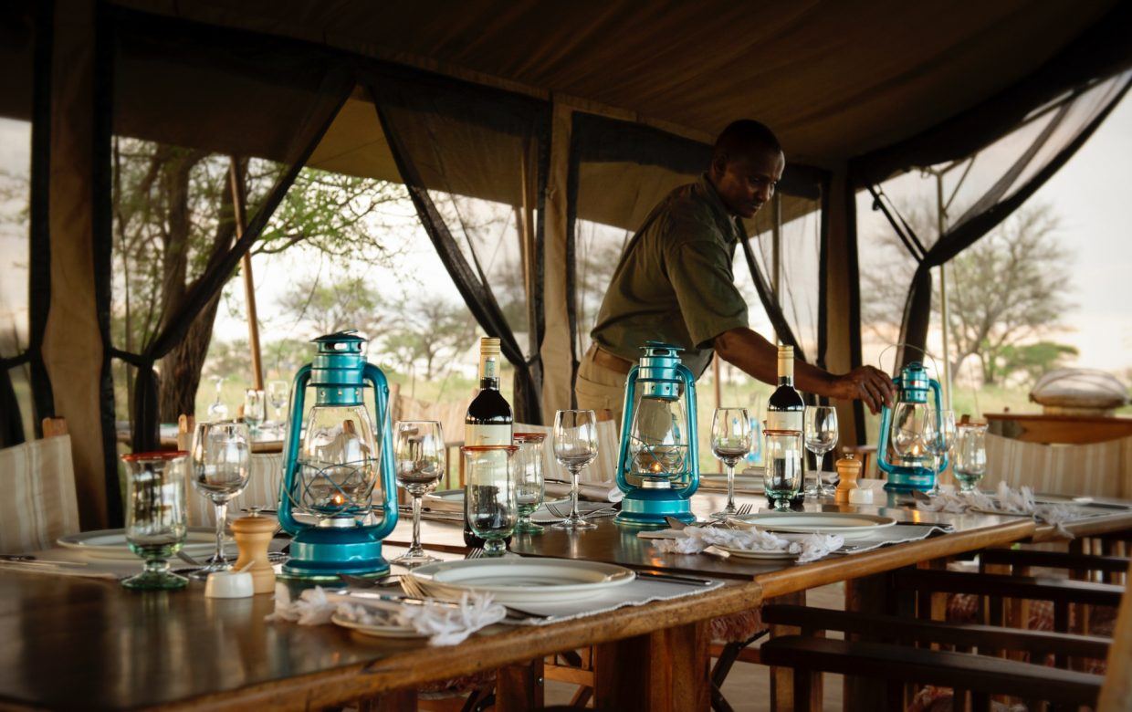Explore Tanzania - Accommodatie Selous Game Reserve - SiwanduExplore Tanzania - Accommodatie Serengeti - Nomad Serengeti Safari Camp