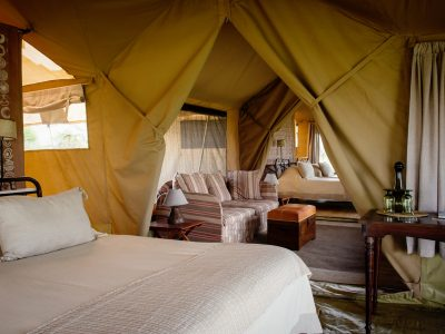 Explore Tanzania - Accommodatie Selous Game Reserve - SiwanduExplore Tanzania - Accommodatie Serengeti - Nomad Serengeti Safari Camp