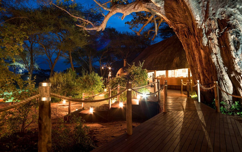 Explore Tanzania - Accommodatie Tarangire - Sanctuary Swala Camp