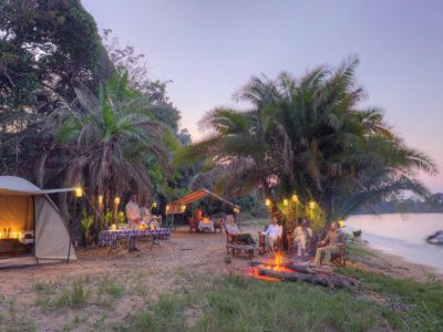Rubondo Island Fly camping