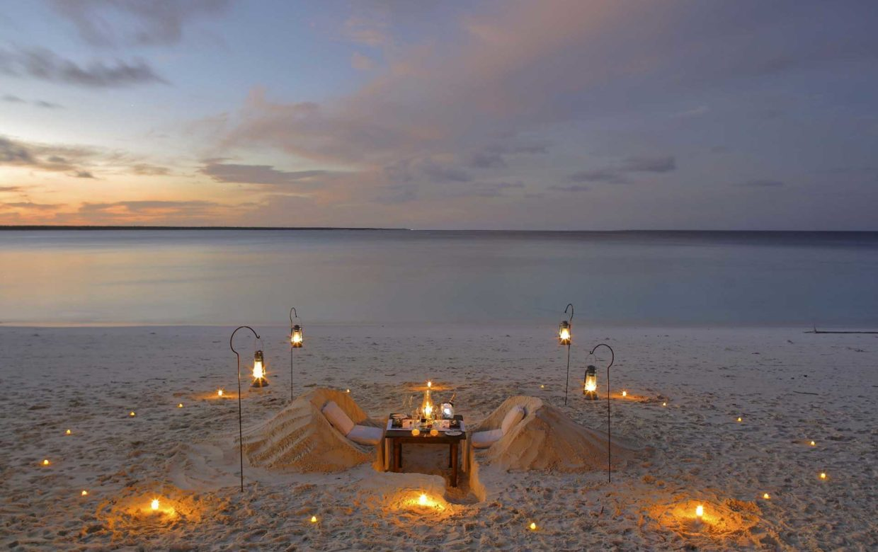 Accommodatie Zanzibar - Mnemba Island Lodge