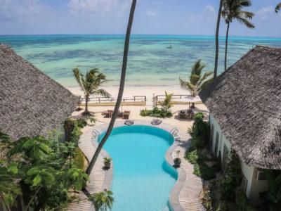 Zanzibar accommodatie - Jambiani Villa - Kati Kati uitzicht