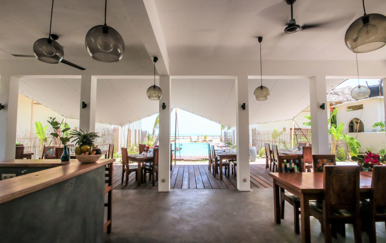 Zanzibar accommodatie - Jambiani Villa - La Shira uitzicht