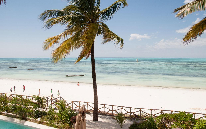 Zanzibar accommodatie - Jambiani Villa - strand