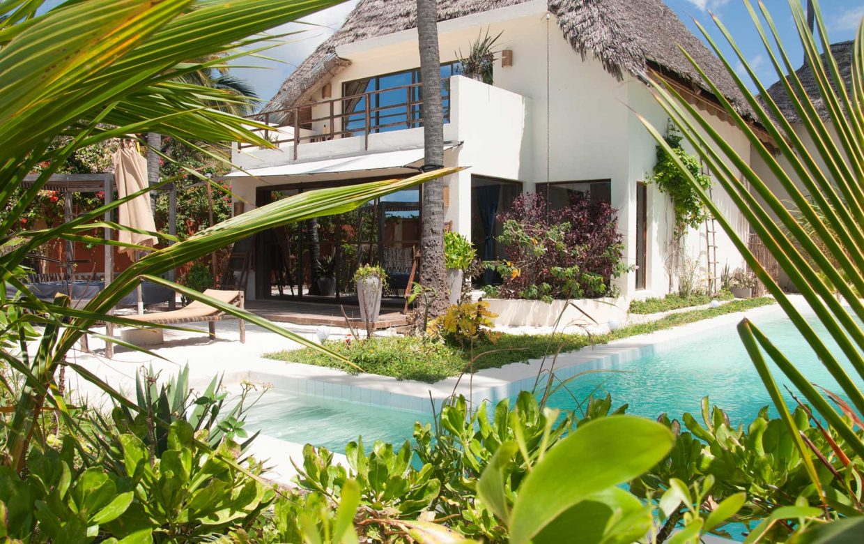 Zanzibar accommodatie - Jambiani Villa - villa