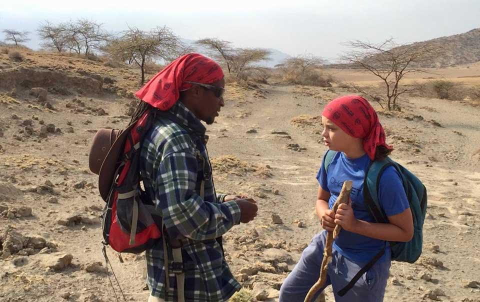 Wandelen in hartje Maasai gebied